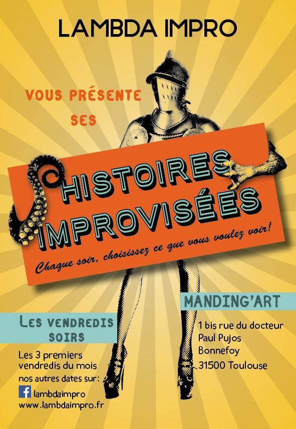 Théâtre d'impro, Compagnie Lambda 13/09