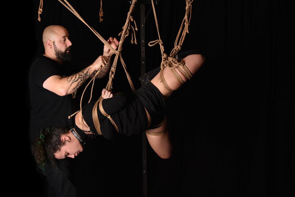 Jam Shibari avec l'Atelier de la corde samedi 14 décembre au Manding'art à Toulouse